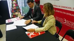 Primer acuerdo de colaboración entre la AEHV y  Deusto Bizirik