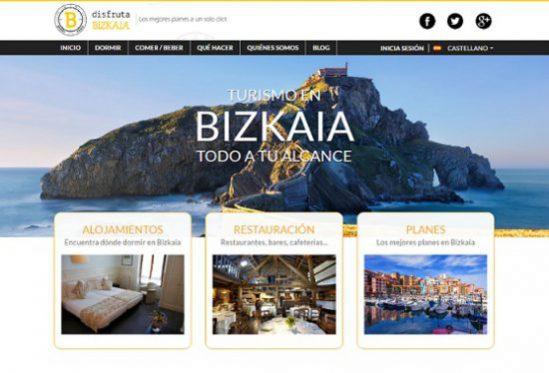 Web turística de la Asociación de Hostelería de Bizkaia