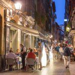 hostelería en el Casco Viejo de Bilbao